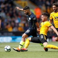 Manchester City Sergio Aguero Wolves Wolverhampton Doherty Moutinho