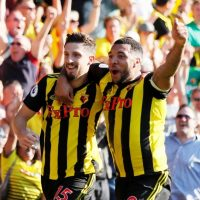 Craig Cathcart and Troy Deeney for Watford
