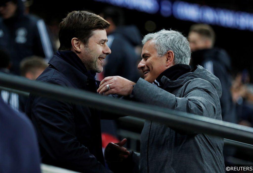 Mauricio Pochettino Jose Mourinho Premier League Tottenham Man United