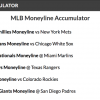 14/1 Baseball Accumulator wins