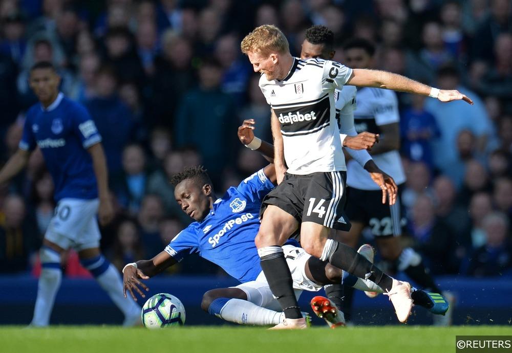 Everton Idrissa Gueye Fulham Andre Schurrle