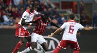 AC Milan Tiemoue Bakayoko Olympiacos