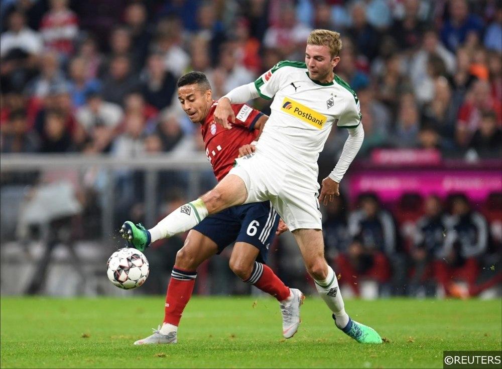 Bundesliga Bayern Munich Thiago Borussia Monchengladbach Christoph Kramer