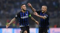 Inter Milan in Champions League action