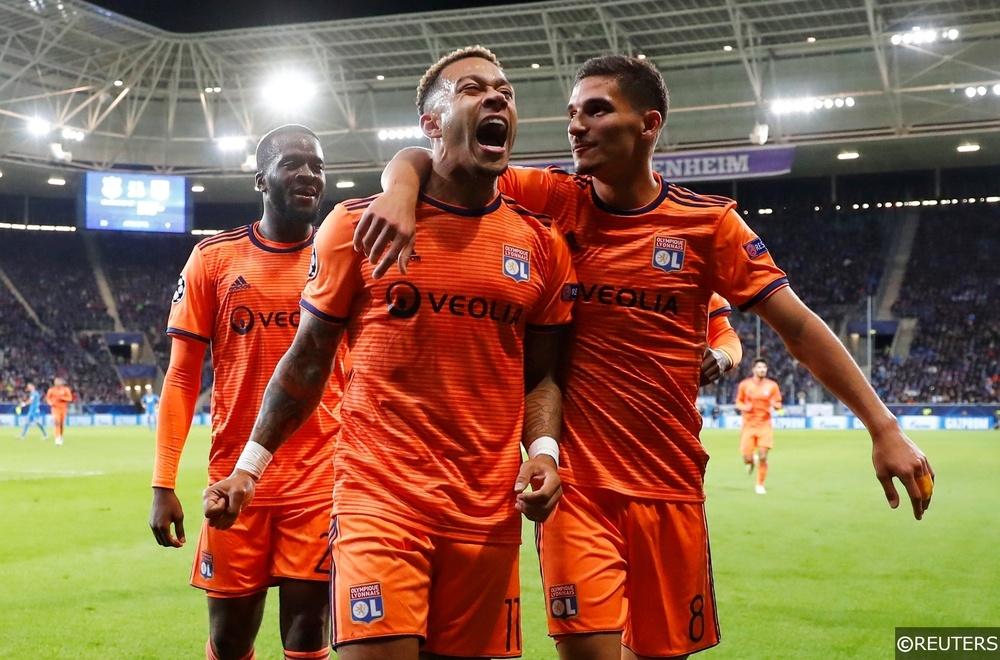 Memphis Depay Lyon Champions League