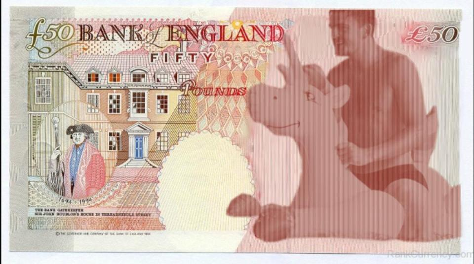 Harry Maguire £50 note