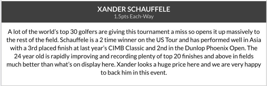 Xander Schauffele wins 3rd title