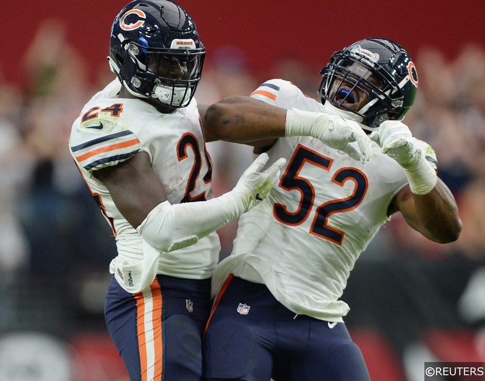 NFL - Chicago Bears - Jordan Howard, Khalil Mack