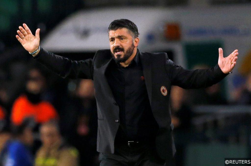 AC Milan's Gennaro Gattuso