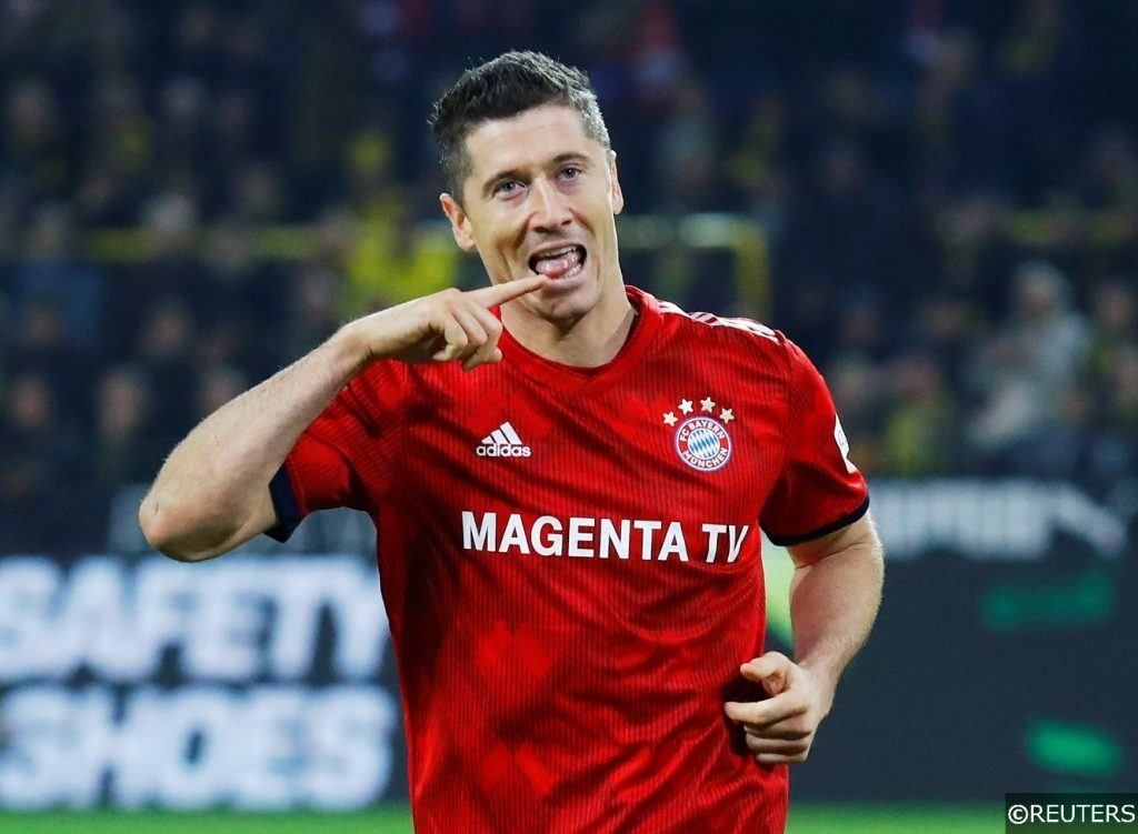 Bayern Munich Robert Lewandowski