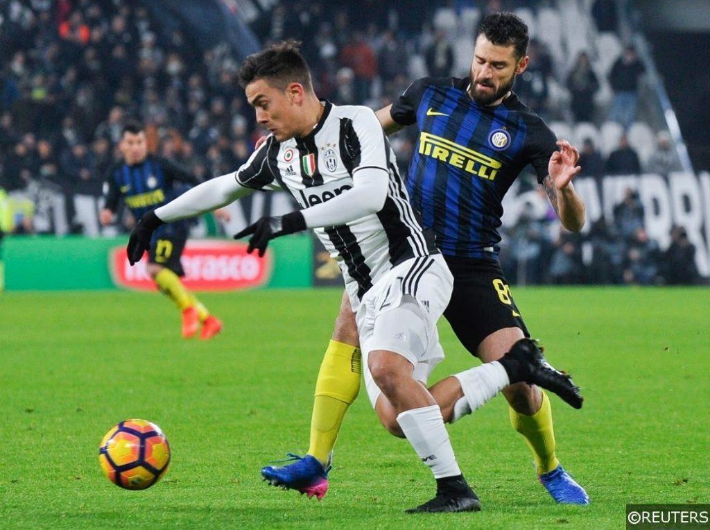 Juventus Dybala Inter Milan