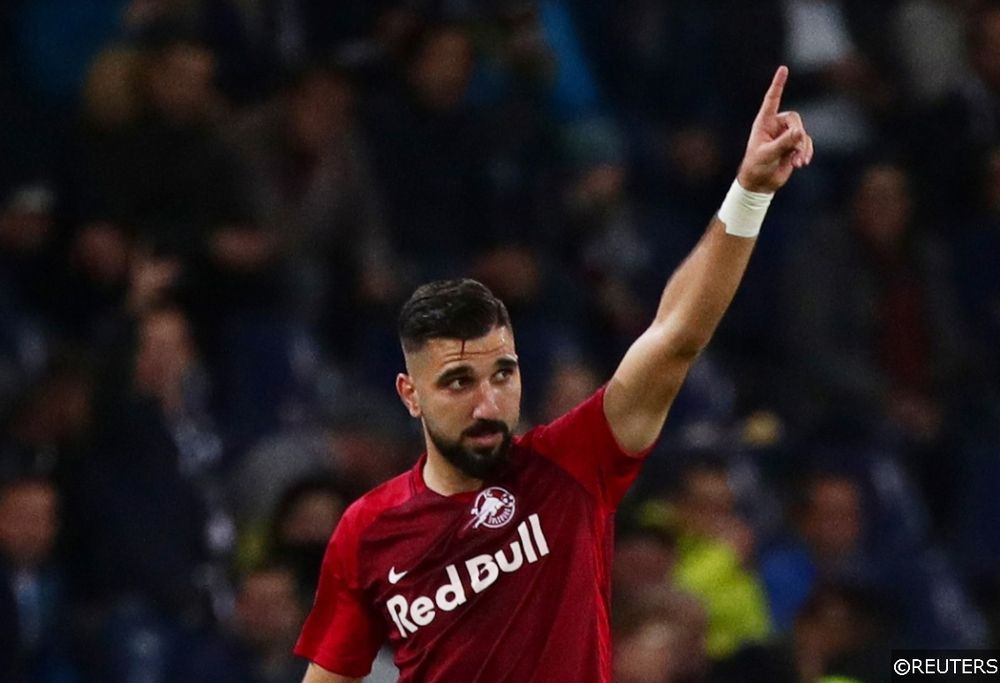 Europa League - Salzburg vs Napoli