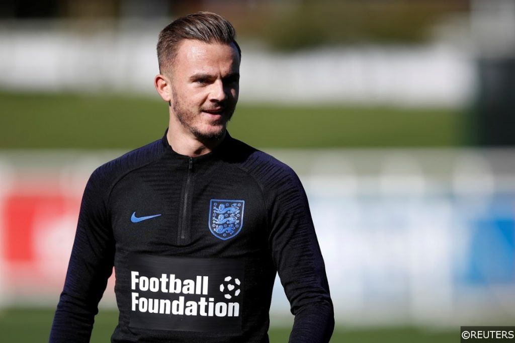 England James Maddison