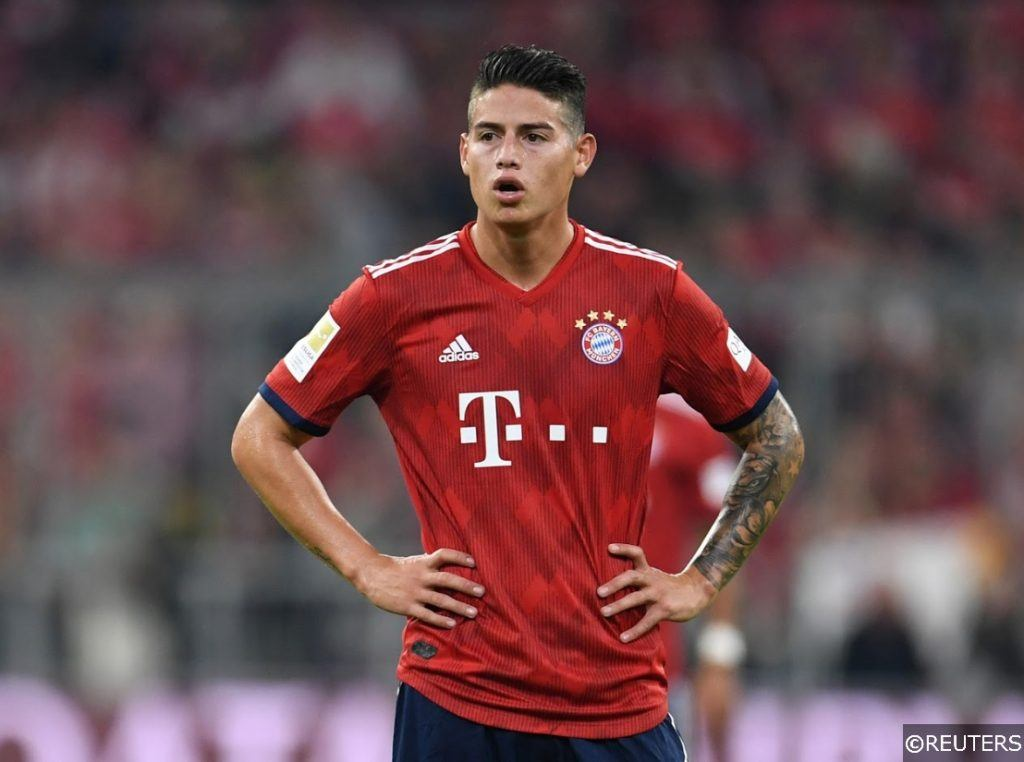 Bayern James Rodriguez