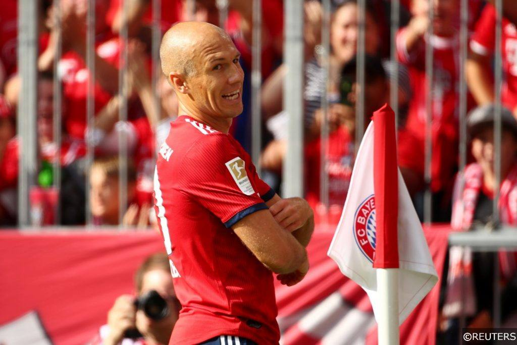 Bayern Munich Arjen Robben