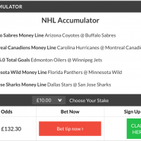 12/1 nhl acca and double land