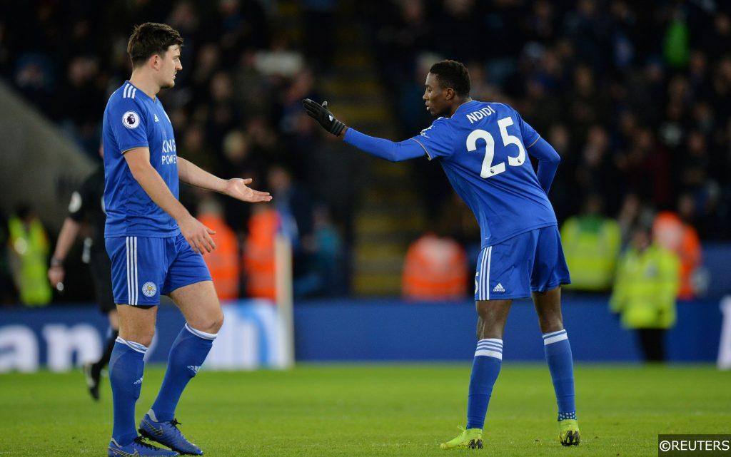 Harry Maguire Wilfred Ndidi Leicester City