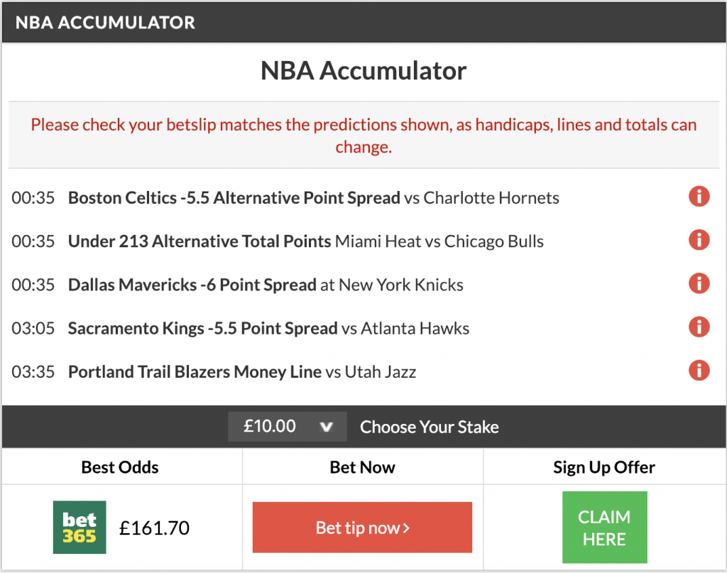 14/1 nba acca winner