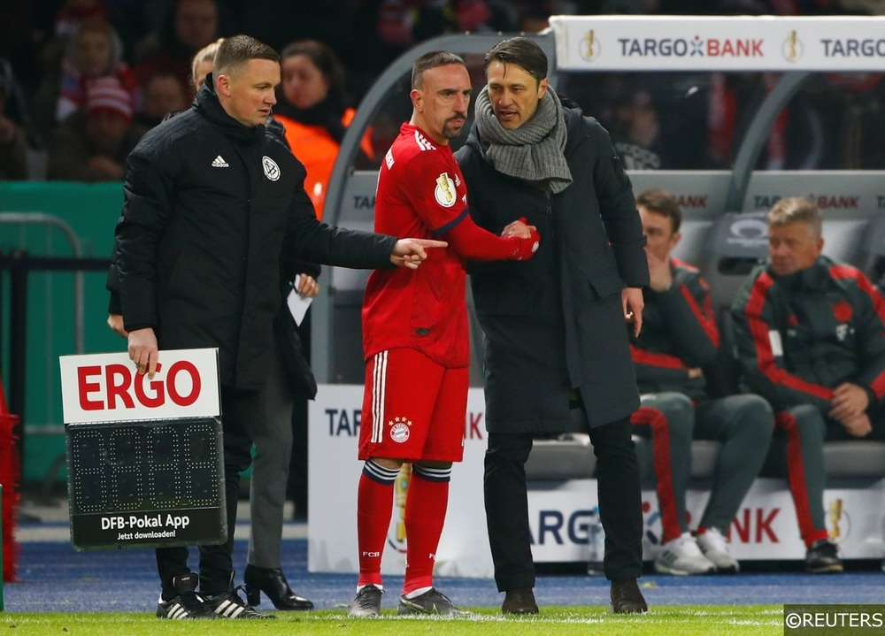 Bayern Munich Niko Kovac Frank Ribery