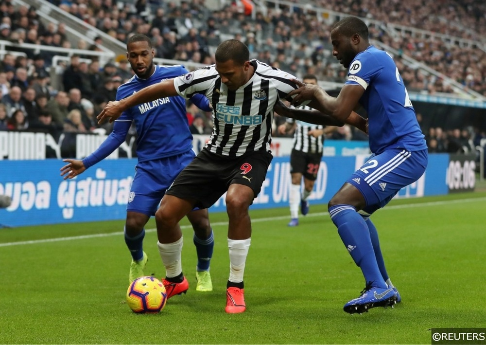 Newcastle Salomon Rondon Cardiff Sol Bamba