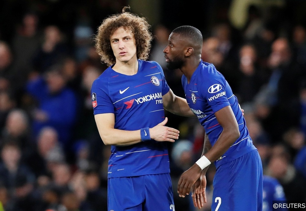 David Luiz and Antonio Rudiger Chelsea