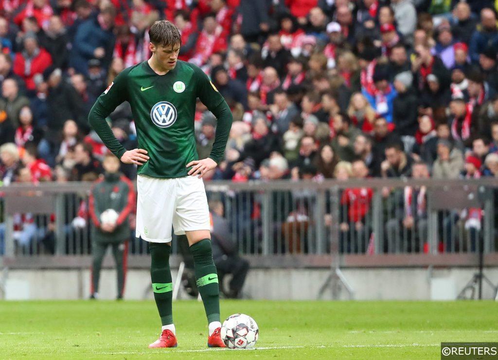 Wolfsburg Wout Weghorst