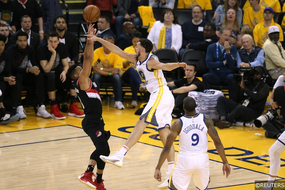 trail blazers vs warriors - photo #30