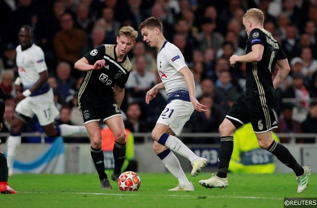 Ajax and tottenham Champions League