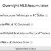 24/1 MLS Acca Lands