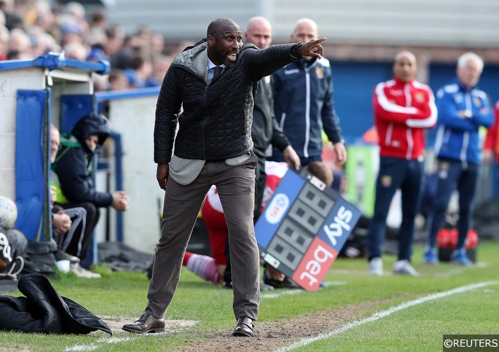 Sol Campbell managing Macclesfield