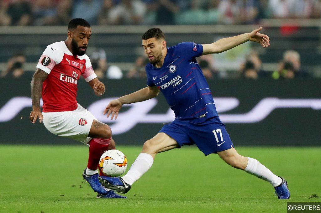 Arsenal Alexandre Lacazette Chelsea Mateo Kovacic Europa League Final