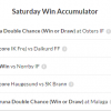 15th june win acca slip