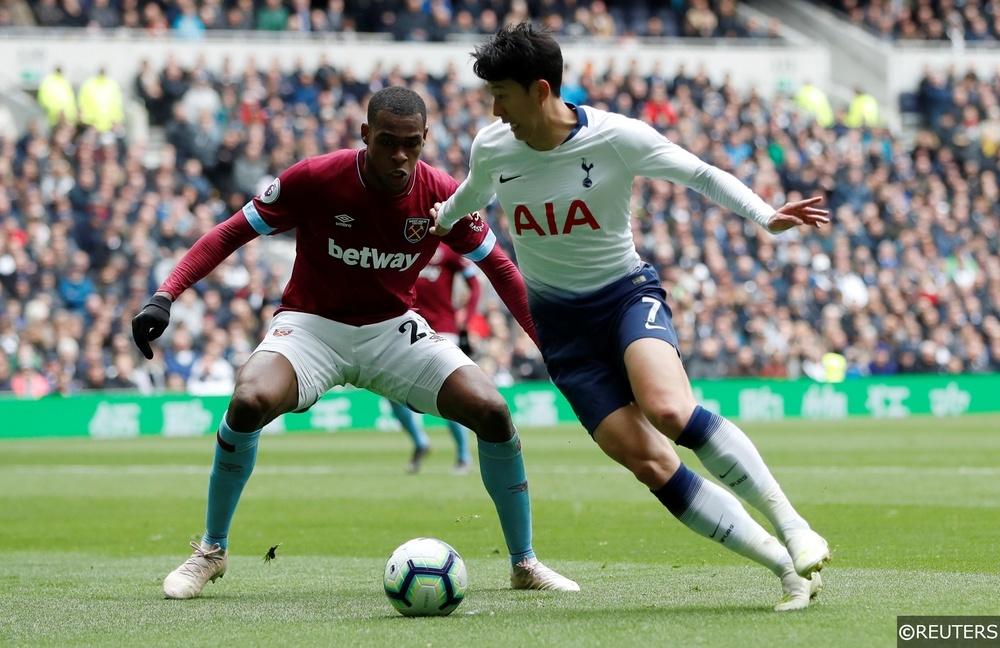 Issa Diop Son Heung-Min West Ham Tottenham