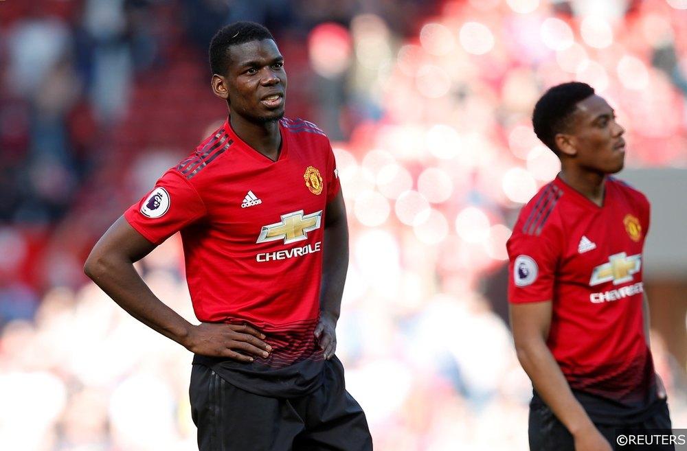Paul Pogba Anthony Martial Man Utd
