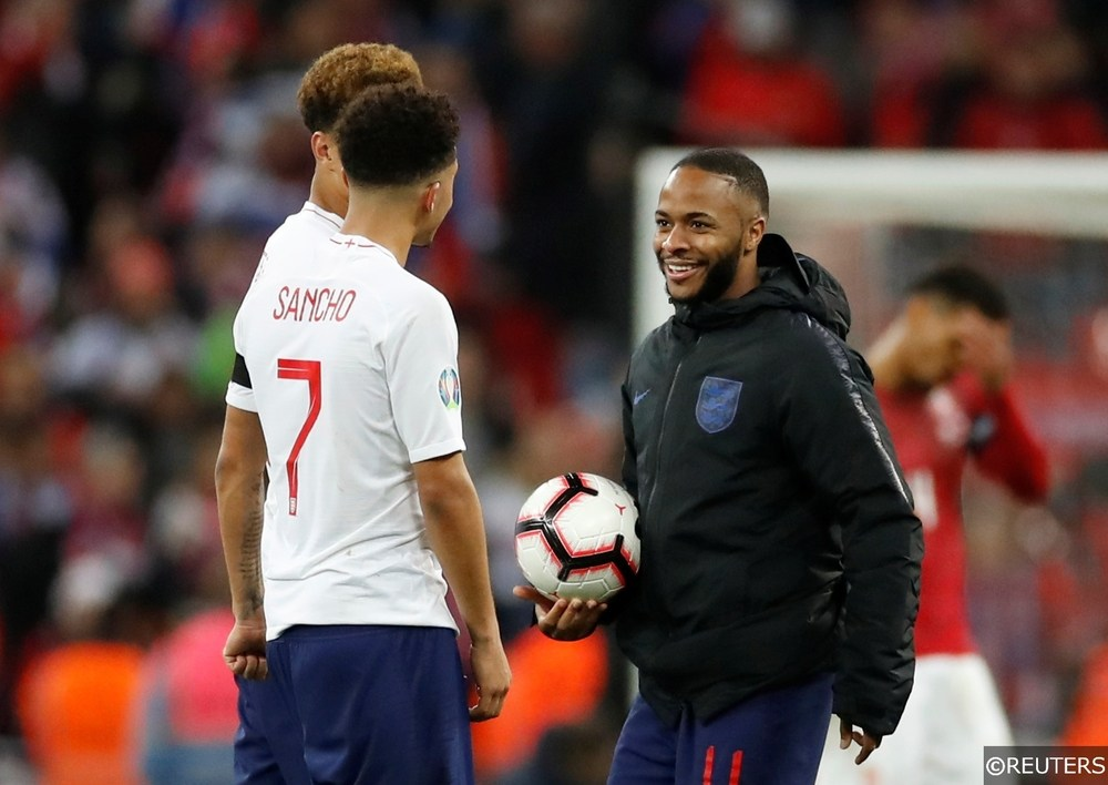 Jadon Sancho England Betting