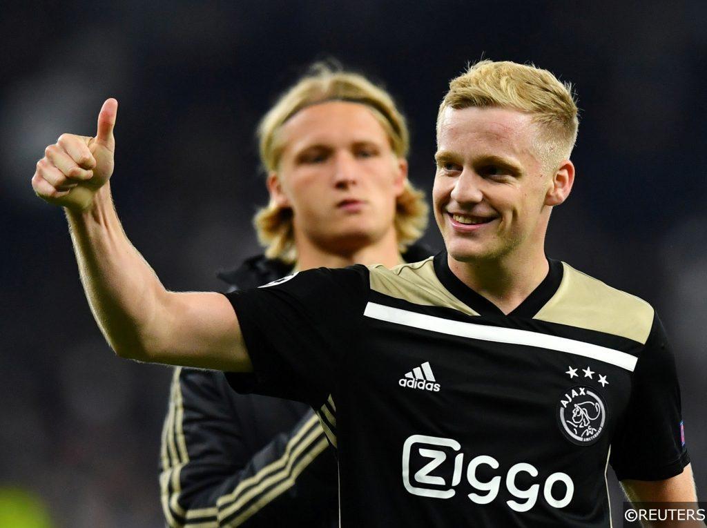 Donny van de Beek Ajax
