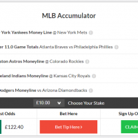 MLB Acca push