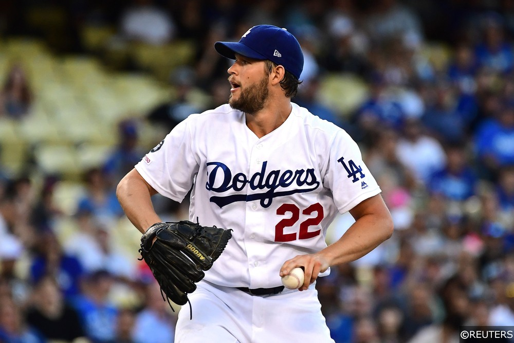 Clayton Kershaw pitching for the LA Dodgers