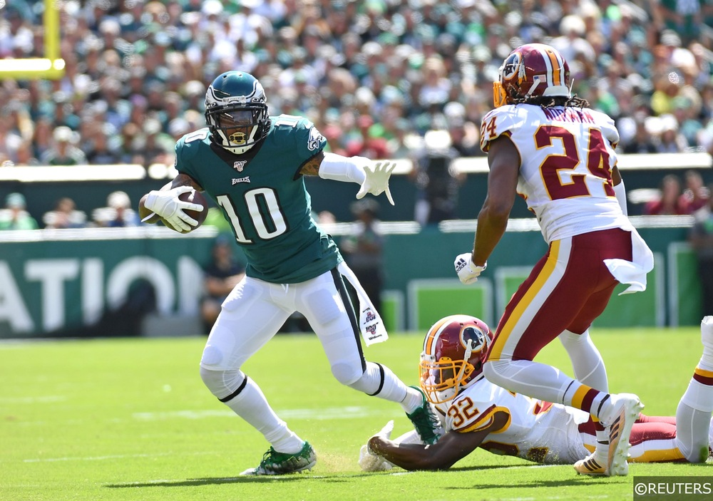 Desean Jackson Against Redskins
