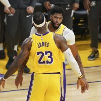 LeBron James and Anthony Davis team up preseason for the Los Angeles Lakers