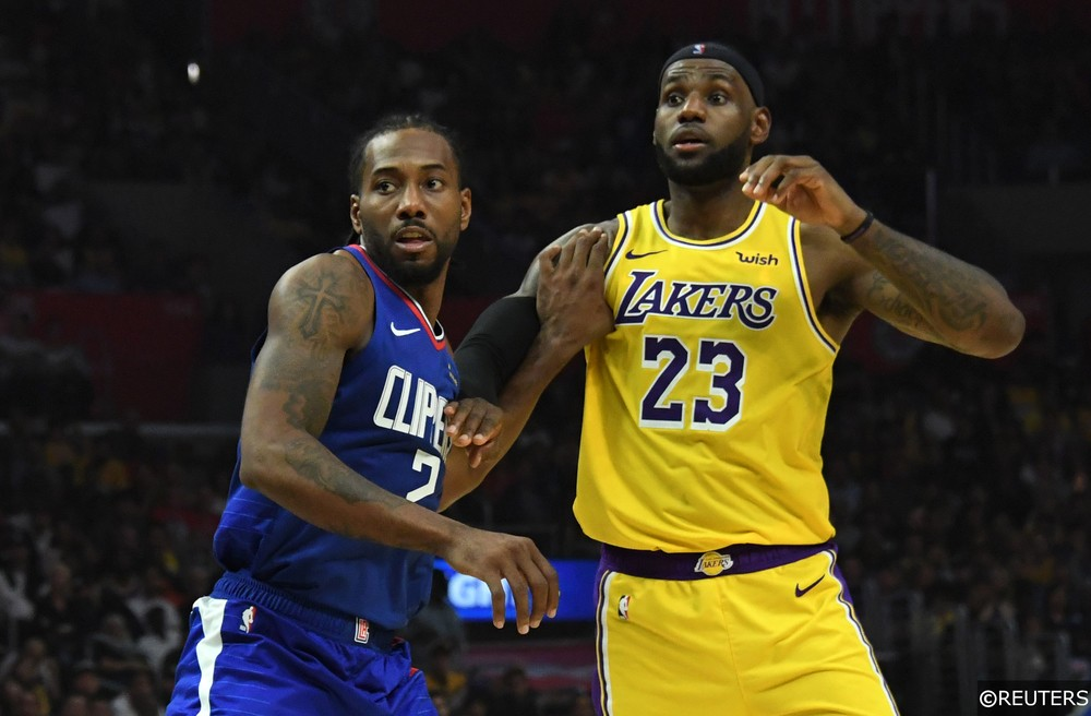 Kawhi Leonard and LeBron James, Clippers vs Lakers