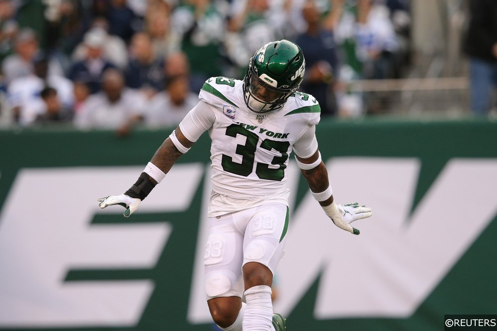 Jamal Adams playing for Jets