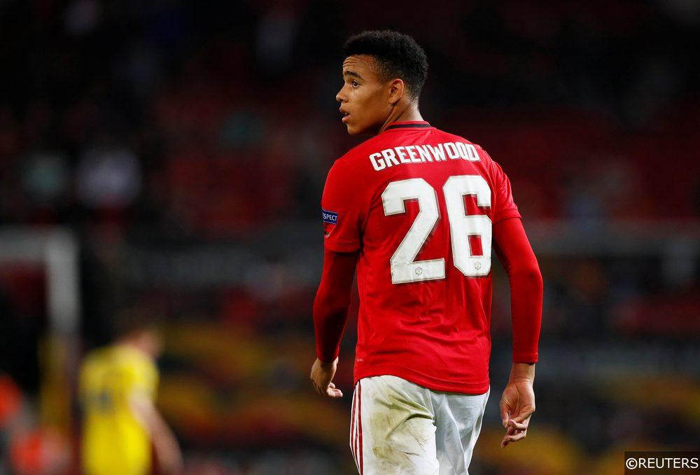Mason Greenwood of Man Utd