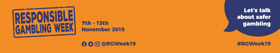 Responsible Gambling Week banner 2019