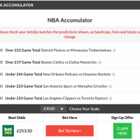 24/1 NBA Acca Lands