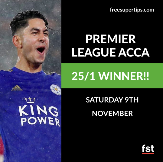 25/1 Premier League Accumulator Lands!