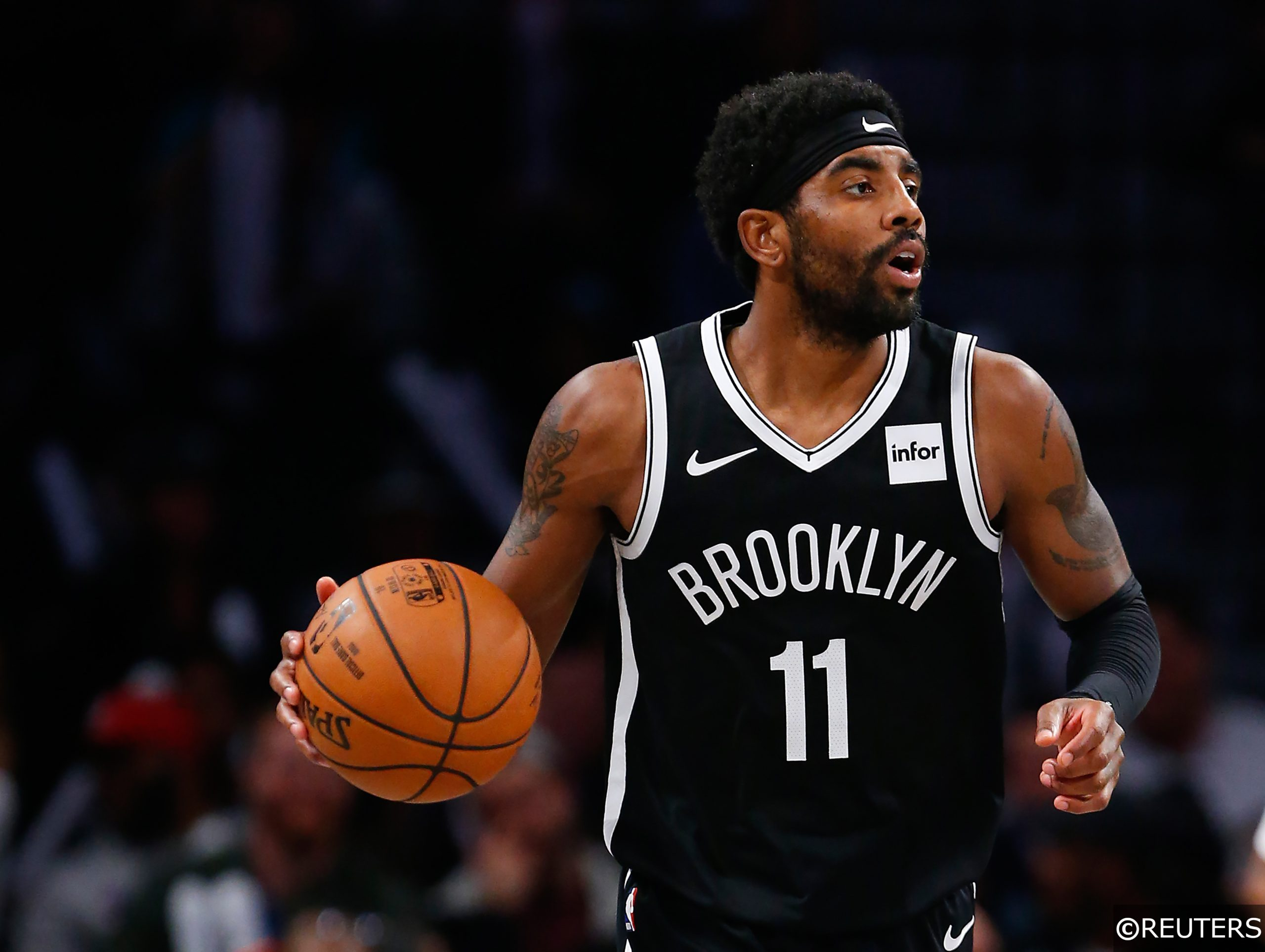 Kyrie Irving Brooklyn Nets vs Indiana Pacers NBA 2020