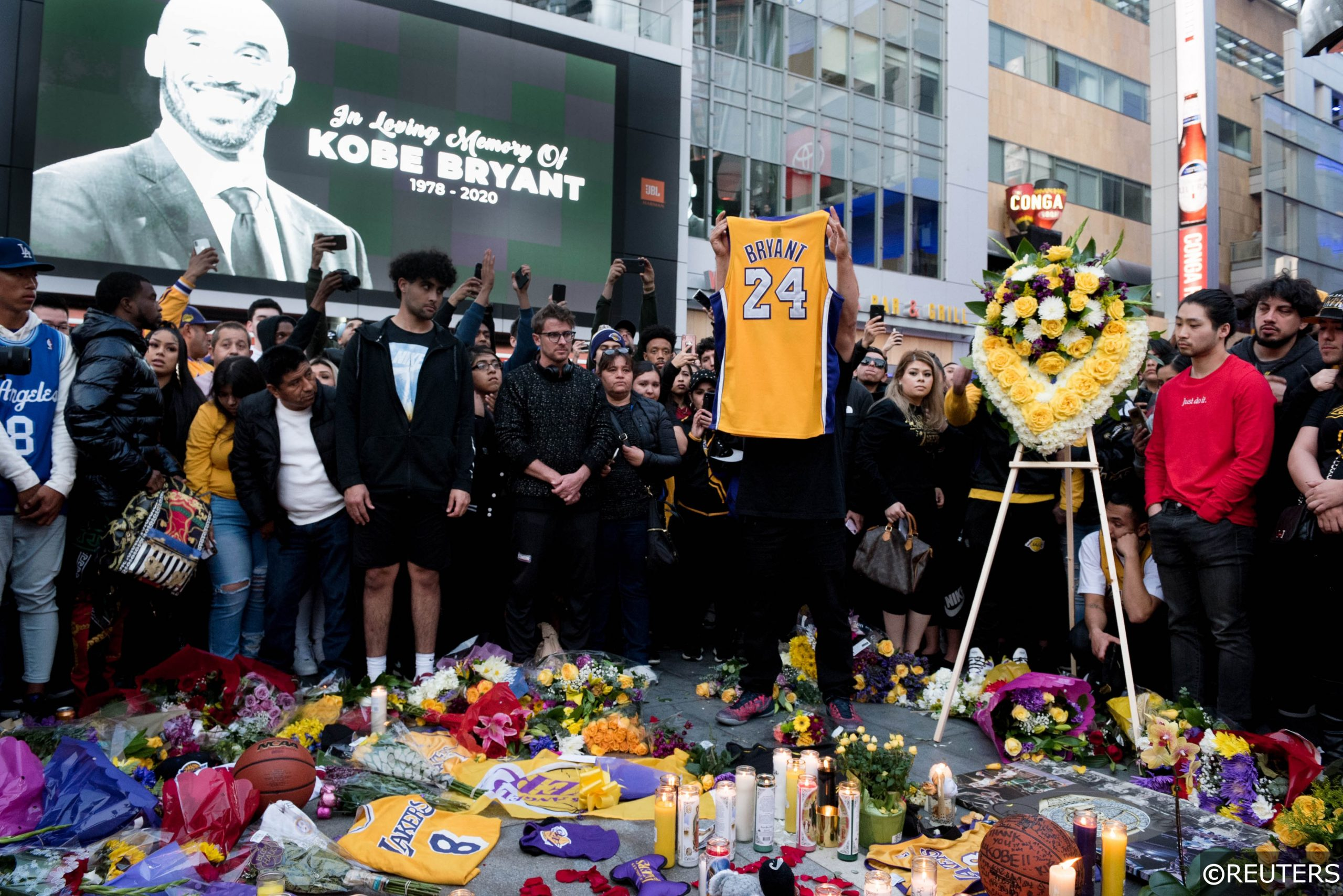 Kobe Bryant Vigil