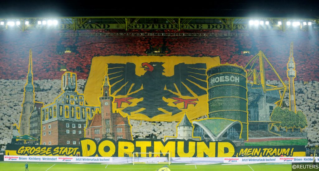 Borussia Dortmund fans Signal Iduna Park