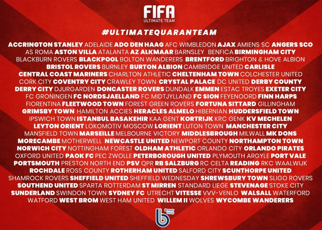 FIFA Ultimate Quaran Team